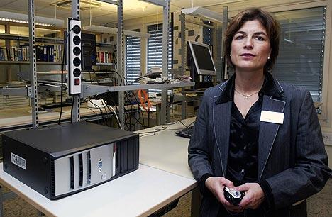Inger Marie Sunde var en av initiativtagerne til Politiets Datakrimsenter som ble offisielt åpnet i 2003. Arkivfoto: Morten Holm, Scanpix.