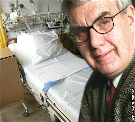 Datatilsynets direktør Georg Apenes ønsker nå å stoppe den høyteknologiske overvåkingen av pasienter på landets sykehus. (Foto: Scanpix)