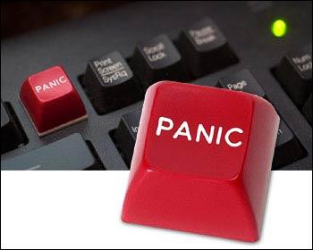 Synes du data er vanskelig? Denne panikk-knappen er til å lime på tastaturet.