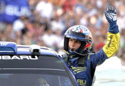 Petter Solberg. Rally Akropolis Hellas. (Foto: AP/SCANPIX)