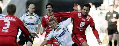 Rosenborg - Brann (Foto: Gorm Kallestad / SCANPIX)