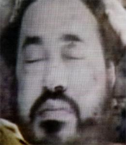 Amerikanske styresmakter har frigitt dette biletet av den døde Abu Musab Al Zarqawi.