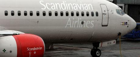 Nå er det full krig mellom de SAS-ansatte om hvor det tunge vedlikeholdet på flyene skal foregå. Foto: Cornelius Poppe, Scanpix