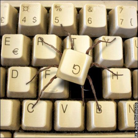 Dårlig tastatur-hygiene fikk fatale følger. (Innsendt av Geir Breivik)