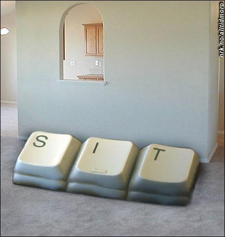 Når nerder begynner å designe møbler. (Alltid Moro)