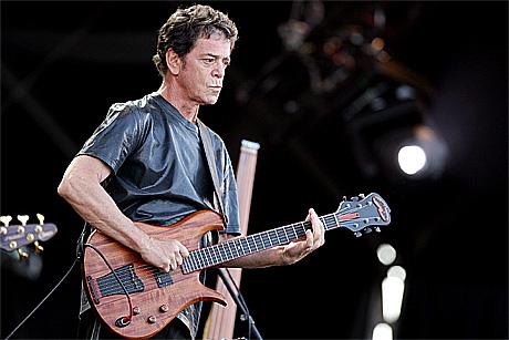 Lou Reed live fra Isle of Wight-festivalen 11.juni. Foto: Reuters
