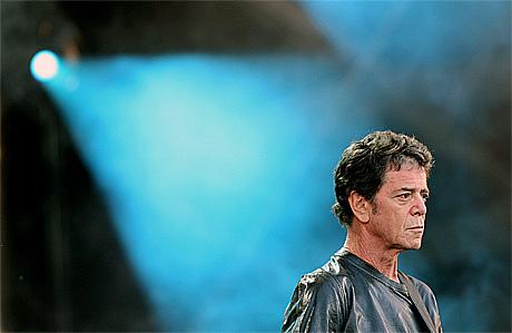 Lou Reed vil ha norsk støy. Foto: Scanpix.
