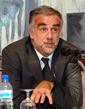 Luis Moreno-Ocampo er sjefanklager ved Den internasjonale straffedomstolen, ICC. Foto: Scanpix/Reuters.