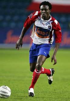 Chinedu Ogbuke ble matchvinner mot Brann i fjor. (Foto: Erlend Aas / SCANPIX)
