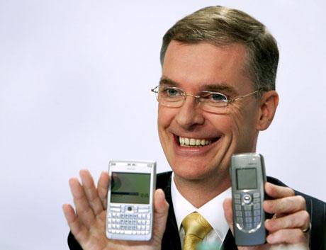 Stedfortredende styreformann Simon Beresford-Wylie i Nokia Networks blir sjef for det nye selskapet. (Foto: Michaela Rehle, SCANPIX/REUTERS)