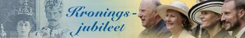 Banner kroningsjubileet