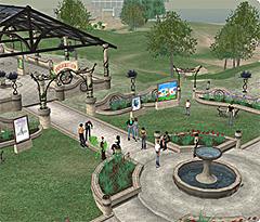 Second Life har over 200.000 brukere verden over. Foto: Faksimile Second Life.