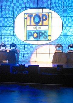 Top of the pops er snart historie. Foto: BBC.