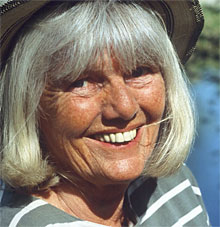 I fjor fikk Kari Bay Haugen de nordiske bondeorganisasjonenes kulturpris. I år får hun den norske Friluftslivprisen. (Foto: Inger Lise Østmoe)