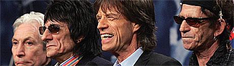The Rolling Stones har inntatt Bergen. Foto: SCANPIX