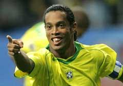 Ronaldinho kommer ikke til å juble på Ullevaal. (Foto: AFP/Scanpix)