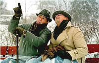 Franz og Willy møtes på benken..året rundt...