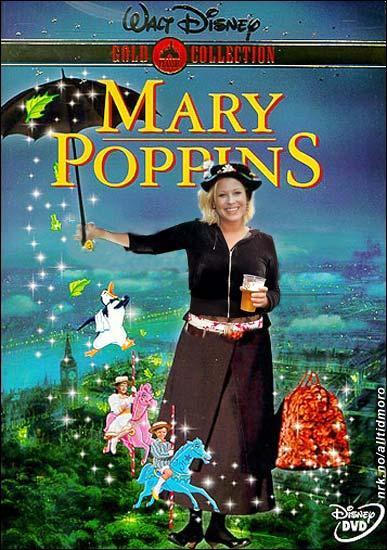 Den norske versjonen av Mary Poppins fikk 18-års grense. (Alltid Moro)