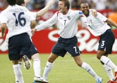 England fotball Beckham (Foto: D.Martinez, Retuers)