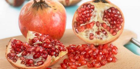 Granatepler kan bli viktig i behandlingen av prostatakreft. Foto: frukt.no