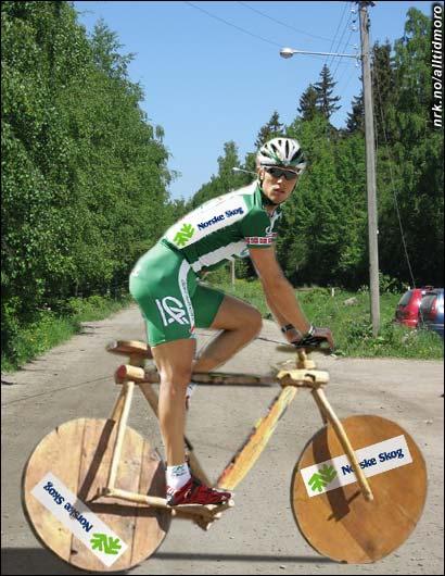 2003: Heller ikke med Team Norske Skog ble det topplasseringer.