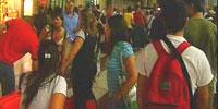 Kaos på togstasjonen i Fiorentina. (Foto: NRK/ EVN)