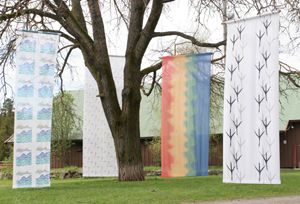 Tekstilene til Ia er inspirert av ulike elementer i naturen