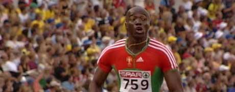 Francis Obikwelu (Foto: NRK)
