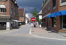 Mysen, en stille og rolig stasjonsby i Østfold. Foto: Tron Soot-Ryen, NRK
