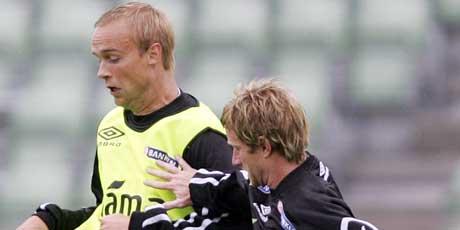 Anders Rambekk og Fredrik Strømstad (Foto: Håkon Mosvold Larsen / SCANPIX)