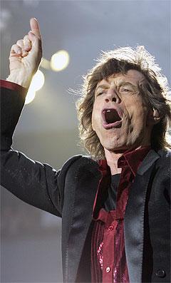 Mick Jagger og Rolling Stones må kanselere igjen. Foto: AFP Photo / Scanpix.