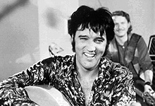 Elvis Presley. Foto: AP Photo / Permission by Elvis Presley Enterprises / SCANPIX