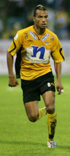 Alex Valencia skjøt Start til semifinale i NM 2006. (Foto: Tor Erik Schrøder / SCANPIX)