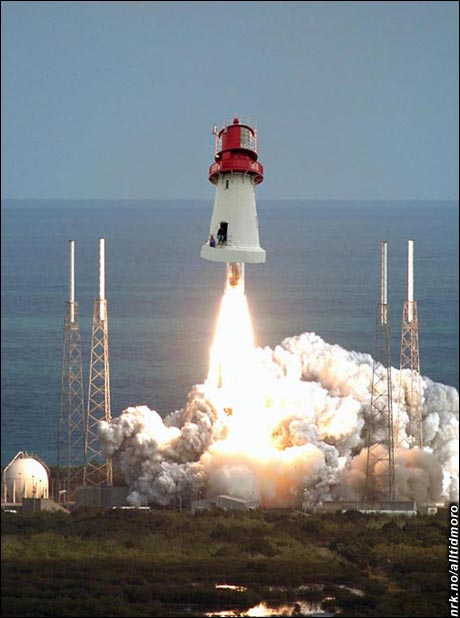 NASA kjøper norske fyr. (Innsendt av Herman Bunes)