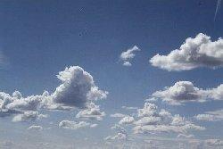 Cumulus-skyer. Foto: Sejlerfolket