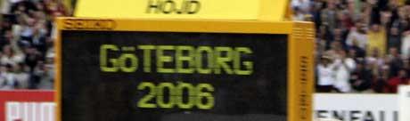 EM i friidrett i Göteborg. (Foto: Cornelius Poppe / SCANPIX)