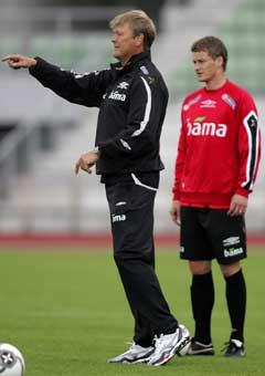 Åge Hareide har laget klart og Ole Gunnar Solskjær er en del av planen. Foto: Håkon Mosvold Larsen / SCANPIX)
