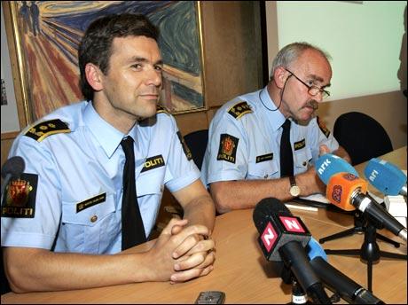 På dagens pressekonferanse kunne politiet avsløre at det var Munchs egen familie som hadde ranet og oppbevart bildene. (Originalfoto: Scanpix)