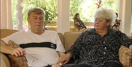 Arne og Rita Haugplass. Foto: Leif Erik Bye, NRK