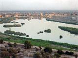 Tigris renner gjennom Bagdad. Foto: NRK