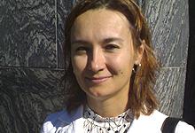 Jana Sverdljuk. Foto: Sjur Sætre, NRK