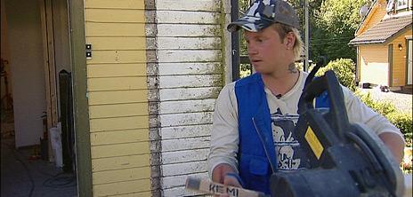Remi Haaverstun har fått et nytt liv med sjølbyggerprosjektet i Meland.