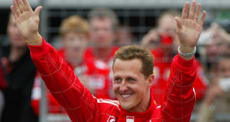 Michael Schumacher (Foto: Reuters/Scanpix)