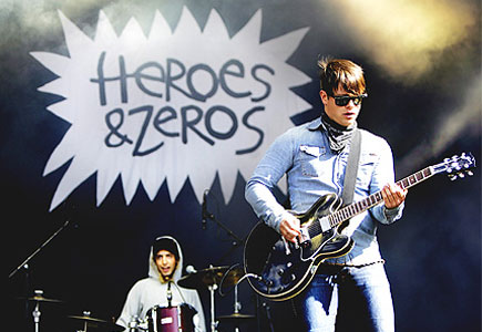 Urørt - vinnarane Heroes & Zeros. ( Foto: NRK P3 )