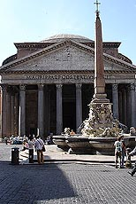 Pantheon - Romas best bevarte bygning fra antikken. Foto Arnt Stefansen.