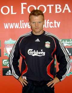 Liten tvil om at det Liverpool som gjelder for John Arne Riise nå. (Foto: Janne Skalleberg / SCANPIX)