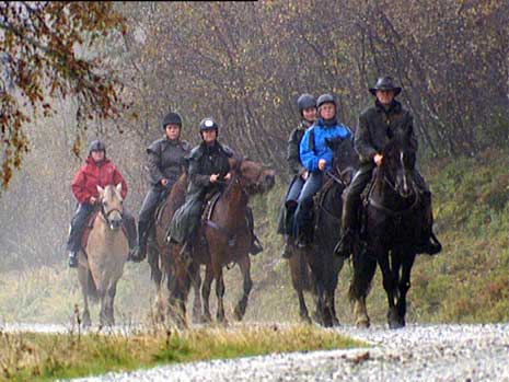 Alle kan sitte på hesteryggen