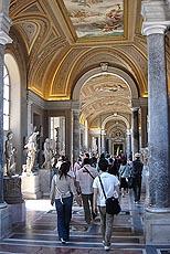 Museene har flere av verdens mest berømte kunstskatter. Foto Arnt Stefansen.