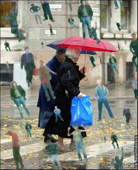 Unikt ekstremværfenomen i hovedstaden forvirrer forskere fra hele verden. - Huff, nå regner det menn igjen... (Innsendt av Linett Bjørkto)