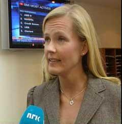 Kapital-journalist Vibeke Holth uttaler seg sterkt kritisk til EnPro. (Foto: NRK)